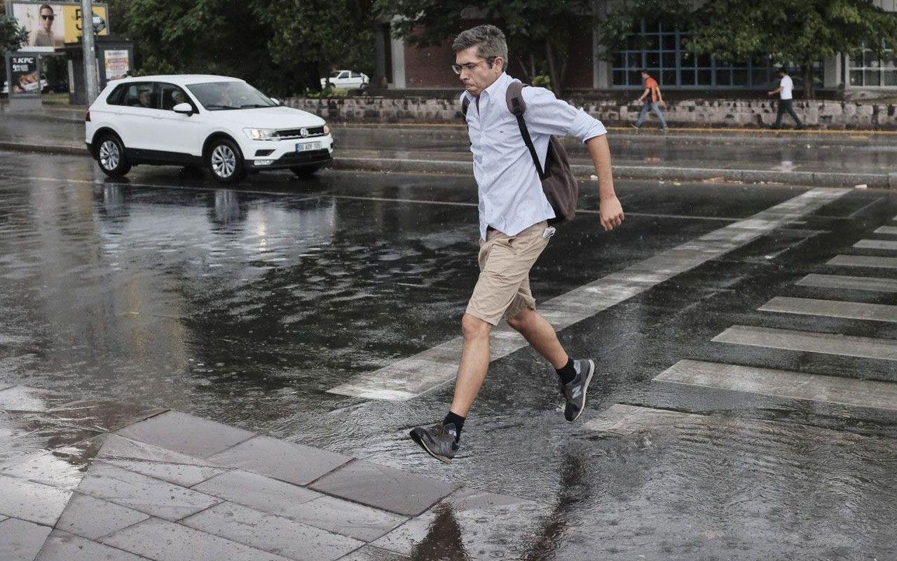 Meteoroloji'den Eskişehir ve 5 ile yağış uyarısı! Sağanak ve gök gürültülü sağanak bekleniyor