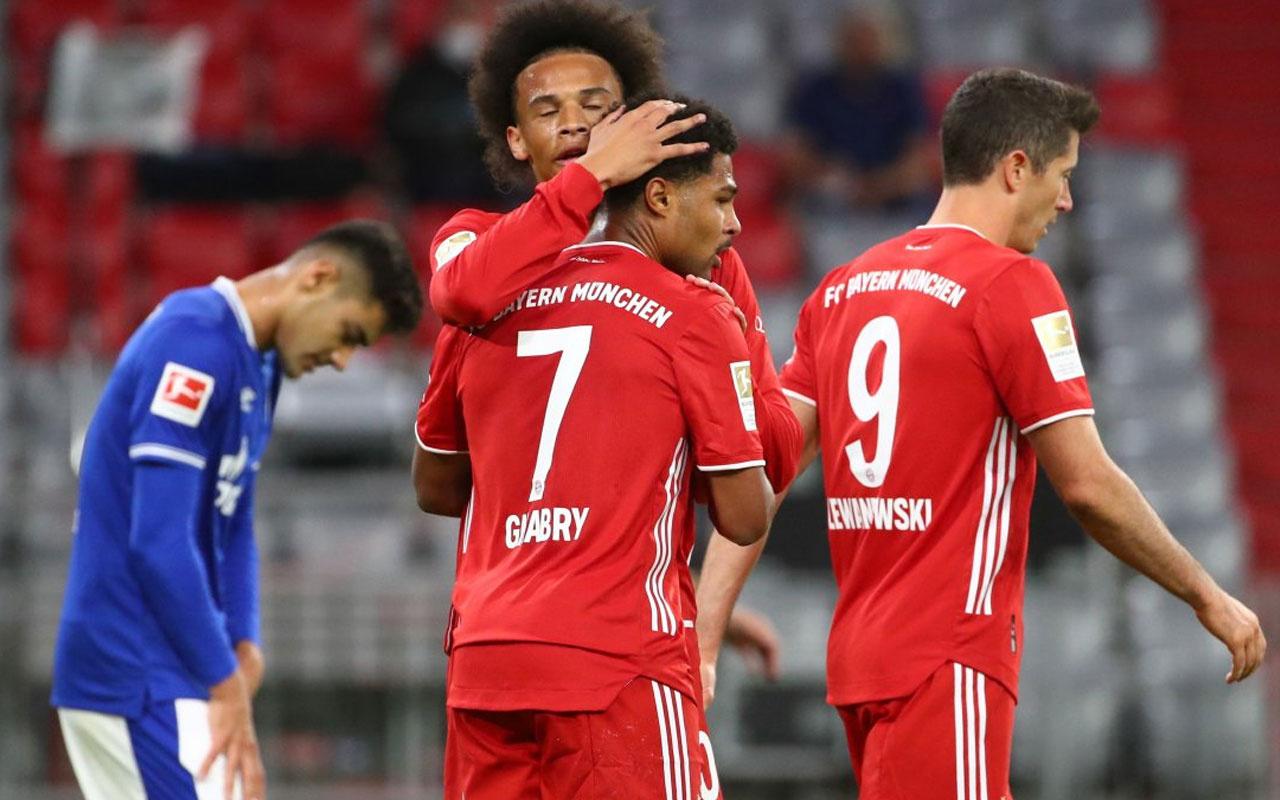 Bayern Münih'ten Schalke'ye 8 gol birden