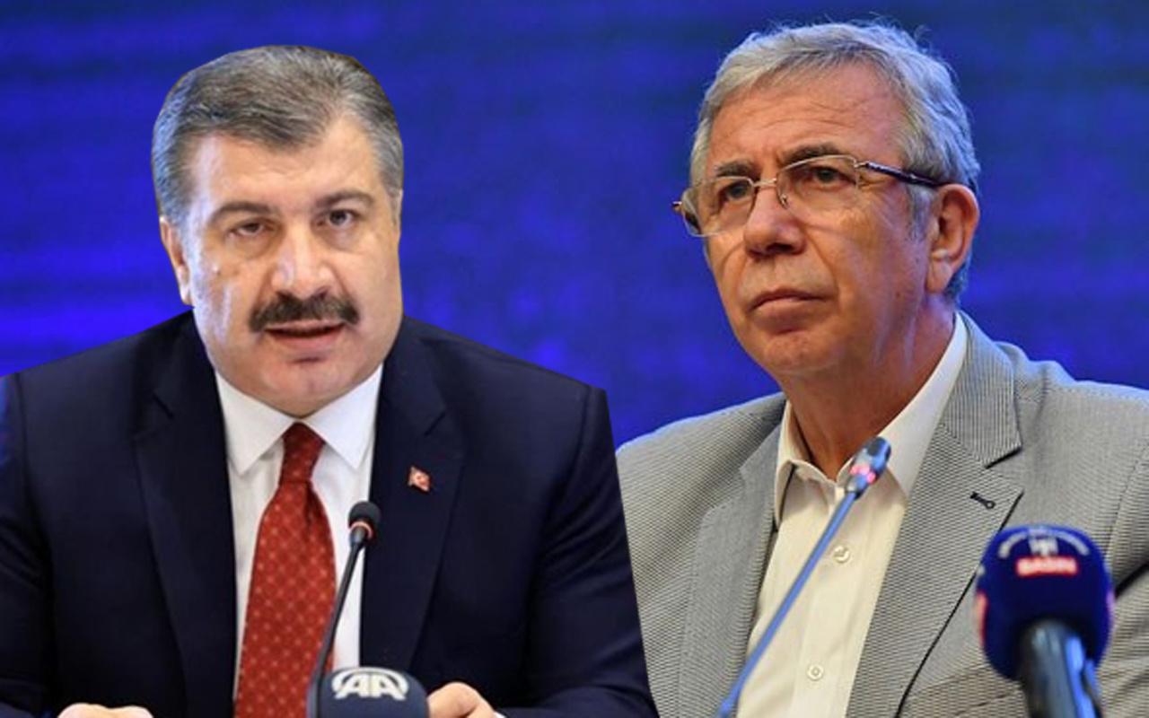 Mansur Yavaş'tan Bakan Koca'ya bomba Korona önerisi: Vakaları bize bildirin