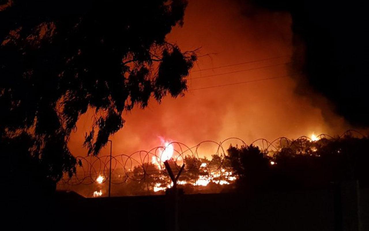 Balıkesir Ayvalık'ta orman yangını! Şeytan Sofrası'nda başladı