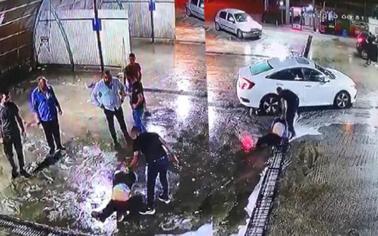 Bursa'da şehir eşkıyaları terör estirdi! Dövüldükten sonra araçtan atıldı, başka bir araç çarptı