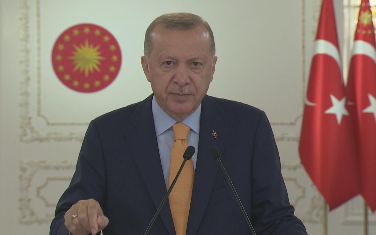 Cumhurbaşkanı Erdoğan'dan BM'ye eleştiri: Sürdürülebilir değil