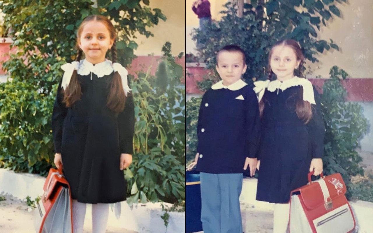 Bakan Zehra Zümrüt Selçuk ilkokul günlerinden fotoğrafını paylaştı 35 yıl önceye ait