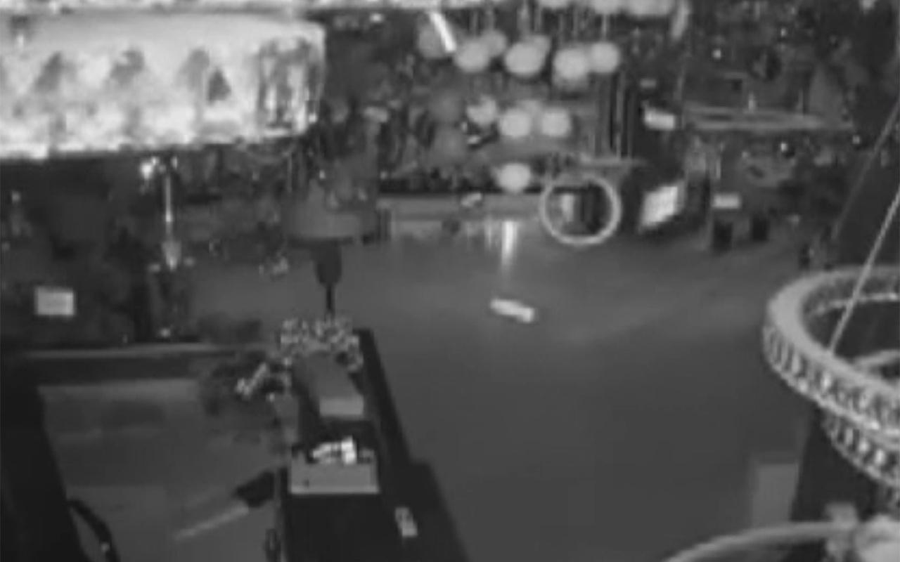 Niğde Bor'daki deprem anı kamerada