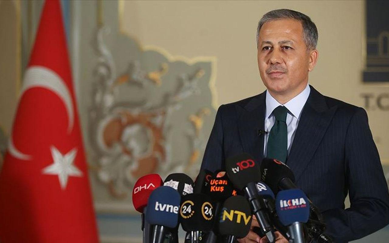 İstanbul Valisi Ali Yerlikaya Silivri'deki muhtarlarla pandemi toplantısında bir araya geldi