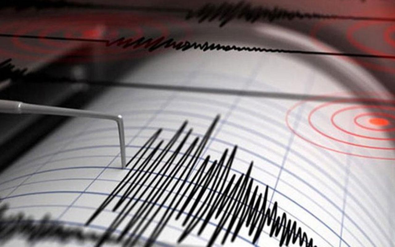 Gökçeada açıklarında korkutan deprem!