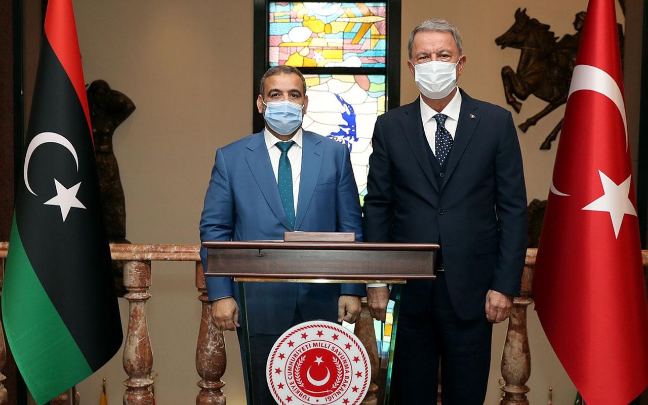 Milli Savunma Bakanı Akar Libya Yüksek Devlet Konseyi Başkanı ile görüştü