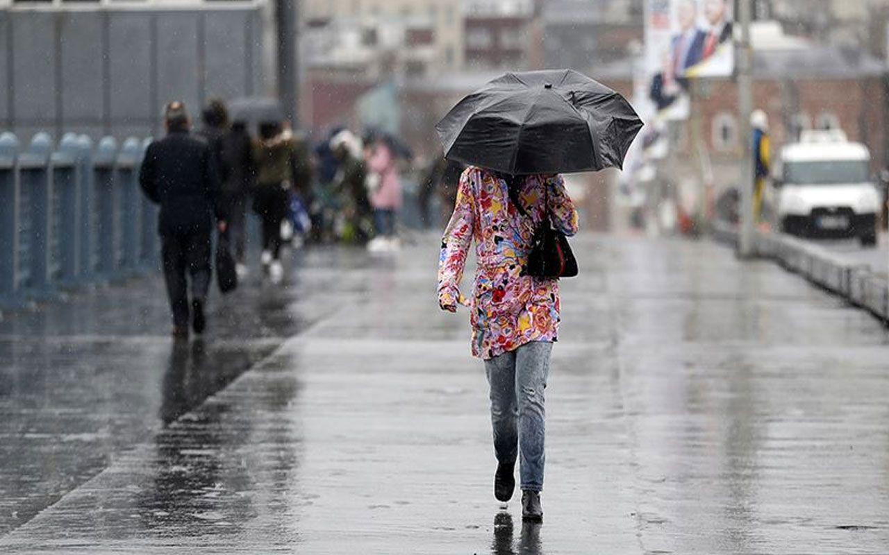 Meteoroloji uyardı!  4 il için kritik uyarı İstanbul'da var