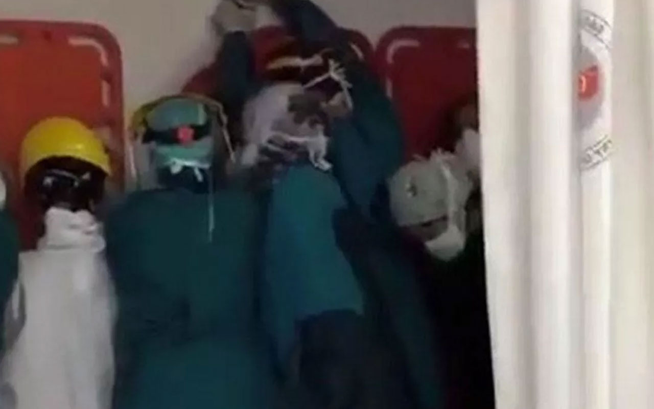 Ankara'da sağlık çalışanları linçten zor kurtuldu! Tepki yağdı tahkikat başlatıldı