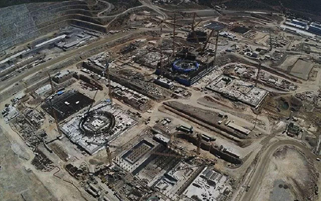 Akkuyu NGS'de ikinci ünitede reaktör temeli tamamlandı