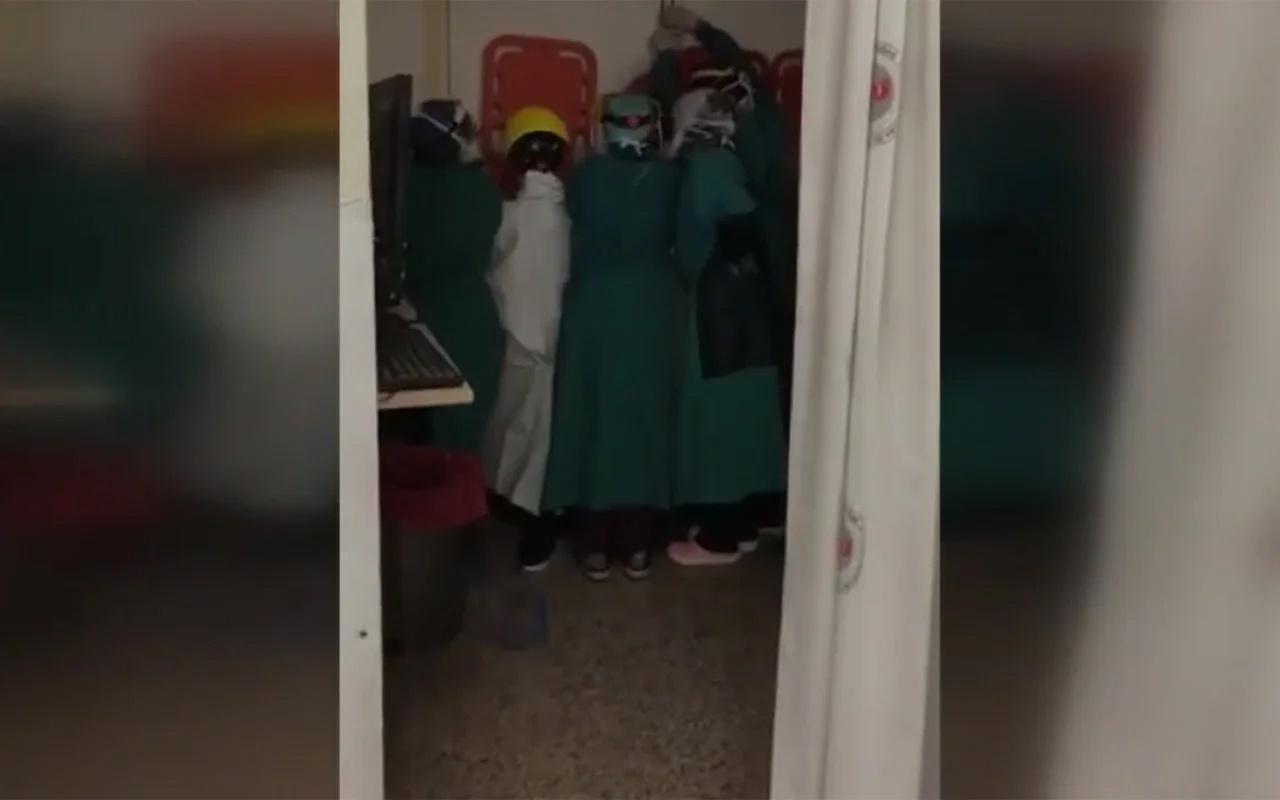 Ankara Keçiören'de sağlık çalışanlarına saldırı girişiminde 2 şüpheli tutuklandı