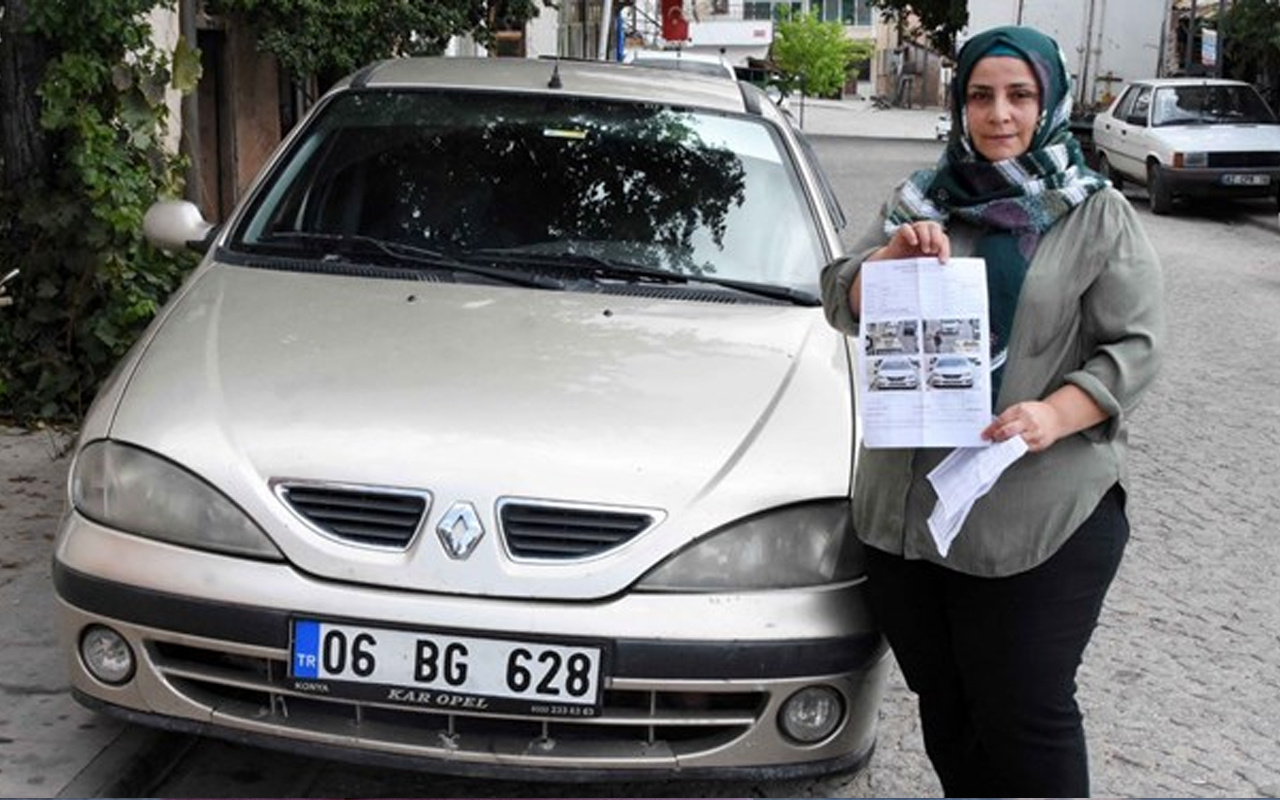 İstanbul'dan Konya'ya gelen kağıtla hayatının şokunu yaşadı