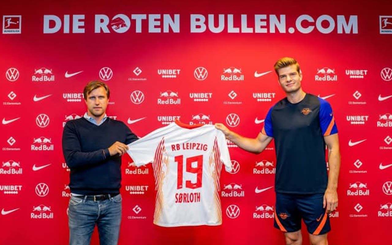 RB Leipzig Alexander Sörloth'u resmen açıkladı