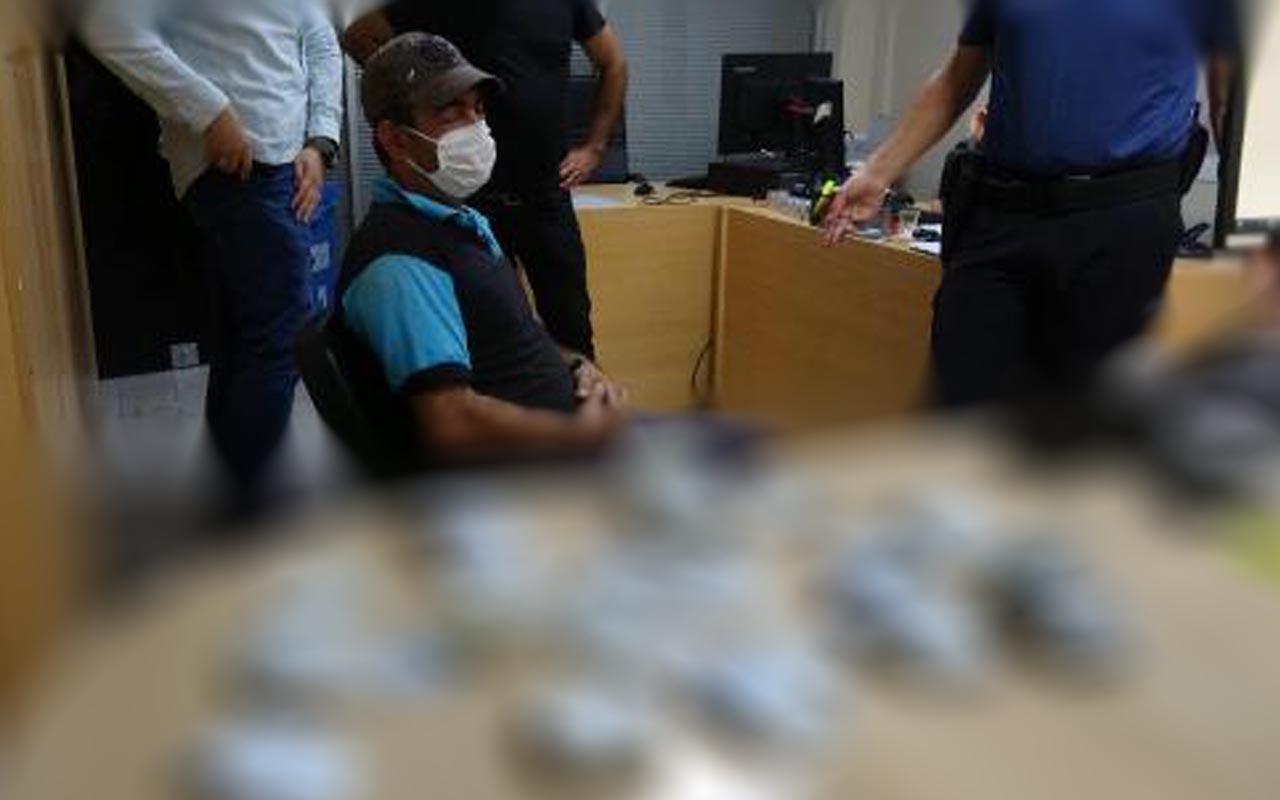Bursa'da 'insanlık ölmemiş' dedirten temizlik işçisi takdir topladı