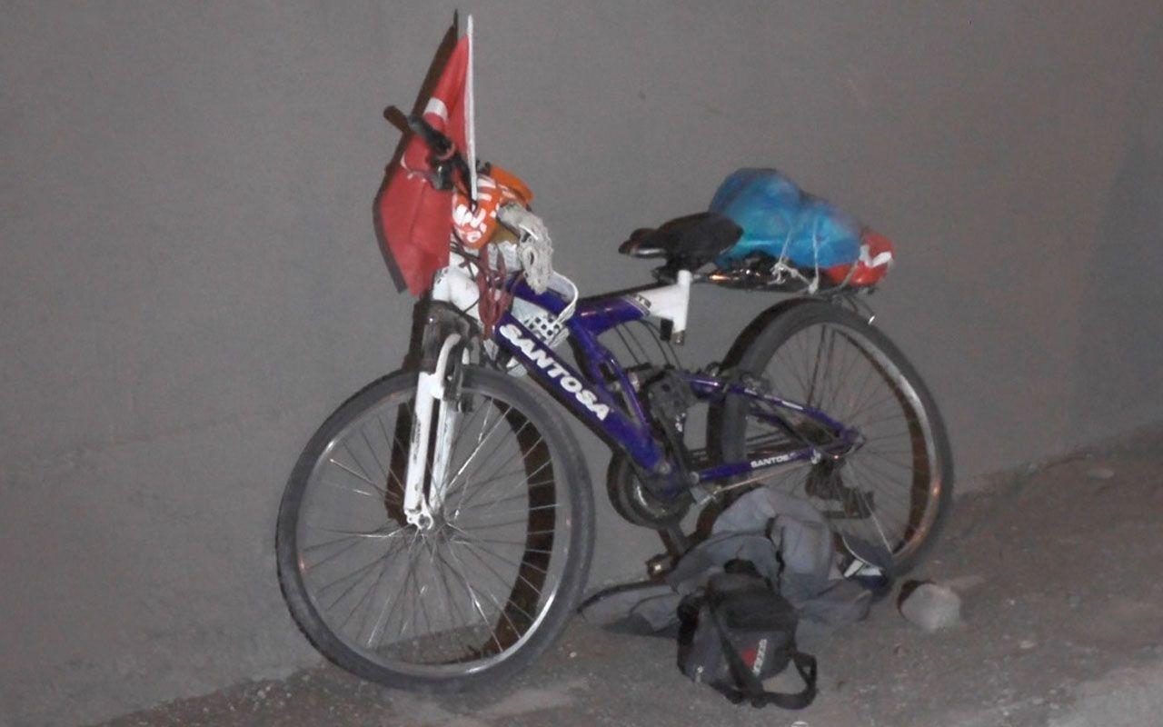 Karabük'te facia! Yaşlı adam bisikletinin üstünde öylece kalakaldı