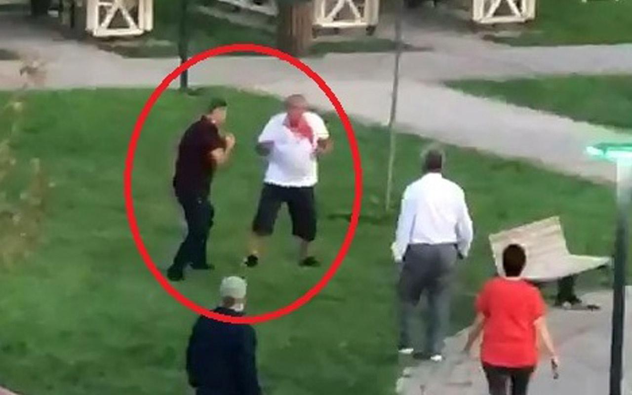 Yumruklar öne çıktı Bursa'da 13 yaşındaki çocuğun babasını kanlar içinde bıraktı