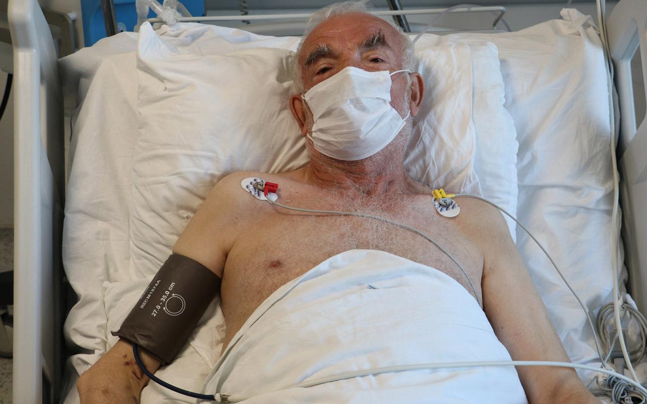 Ankara'da yoğun bakimdaki korona hastası: Öbür dünyaya gittim geldim