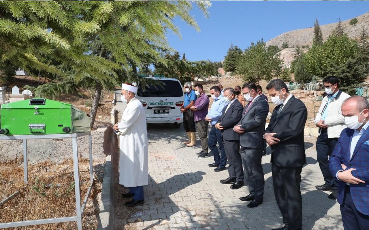 Tokat'ta kimsesiz kadını son yolculuğuna protokol uğurladı
