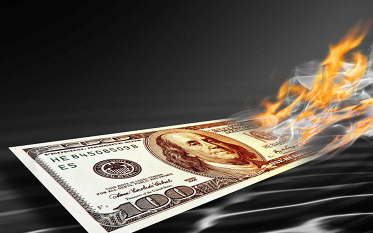 Merkez Bankasının politika faizini artırması sonrası dolar/TL sert çakıldı