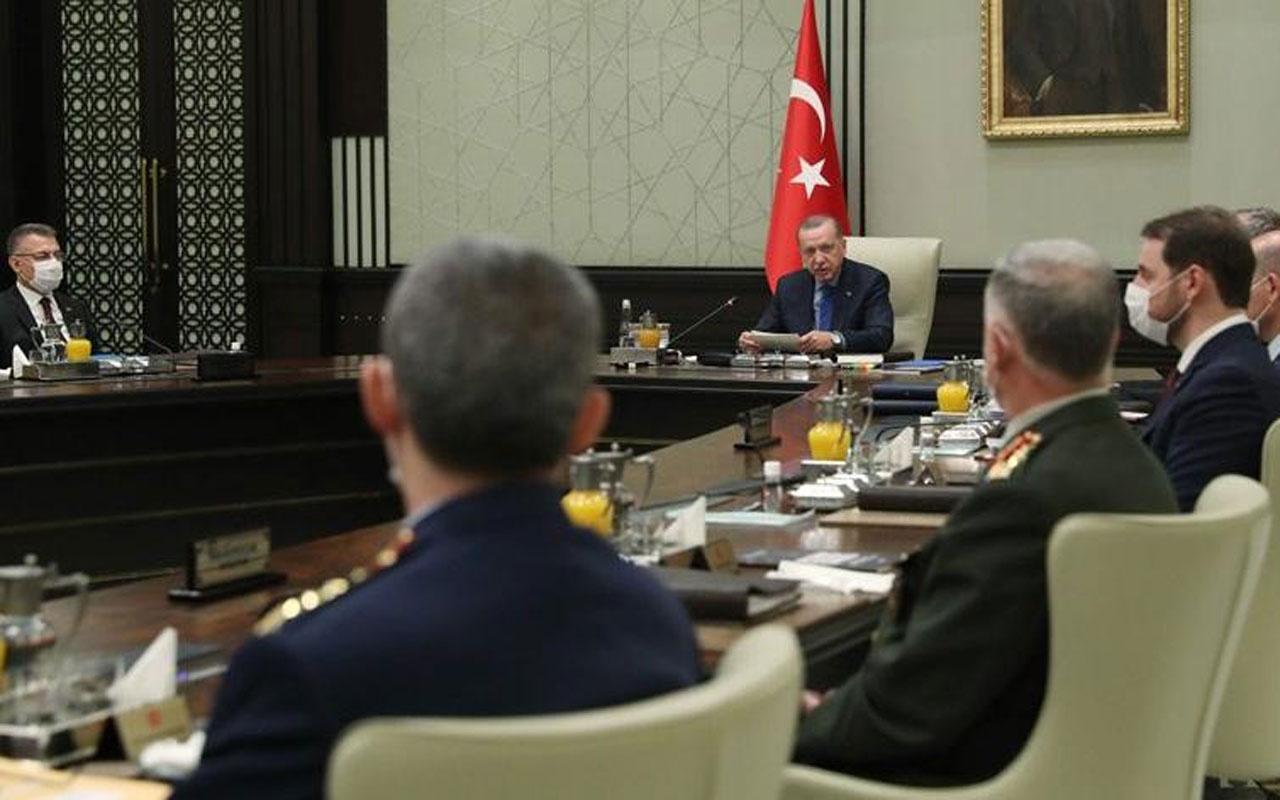 MGK Erdoğan başkanlığında toplandı! Gündem Doğu Akdeniz