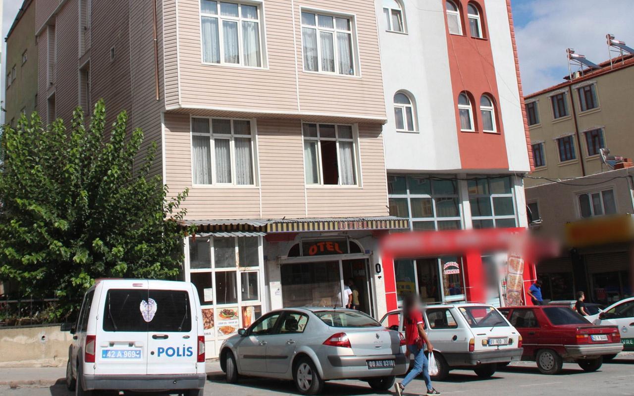 Konya'da otel odasında şüpheli ölüm görevlilere en son böyle demiş