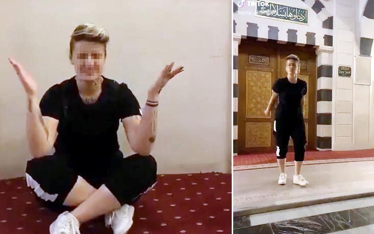 Gaziantep'te camiye ayakkabıyla giren şahıs bu kez tramvayda çiftetelli oynadı