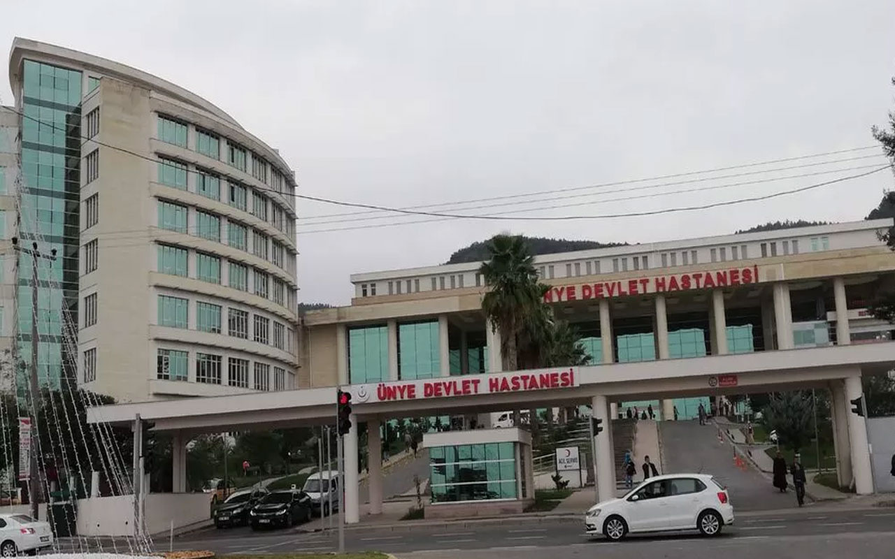 Ordu'da hastanede oksijen tüpü patladı, sağlık çalışanı yaralandı