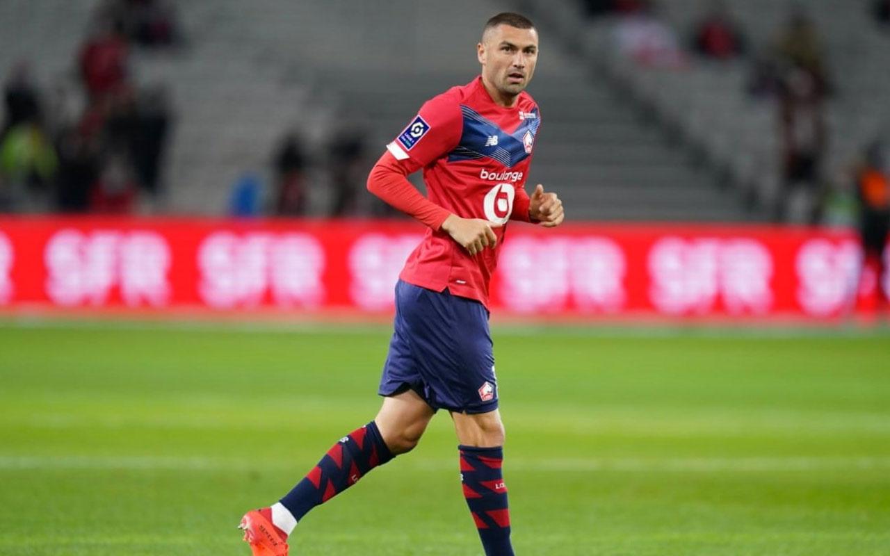 Lille'de ayın futbolcusu Burak Yılmaz seçildi