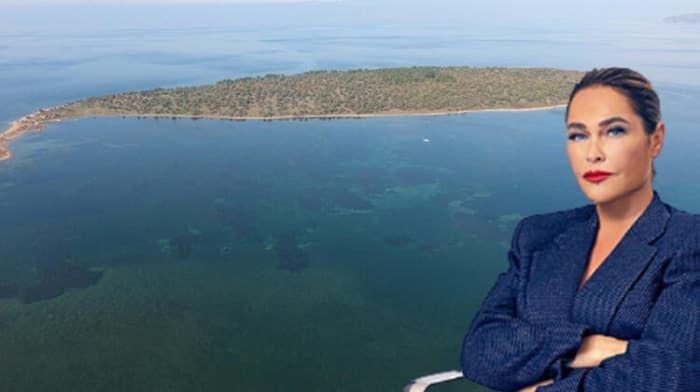 Hülya Avşar ada satın aldı! Mimarisini de kızı Zehra Çilingiroğlu'na bıraktı