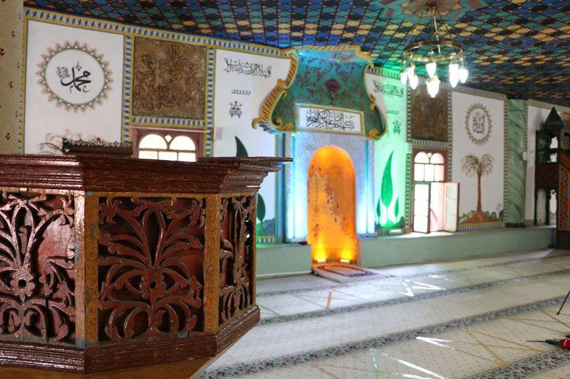 Kütahya'da Mimar Sinan'ın kalfası inşa etti caminin içinde 600 yıldır durmadan dönüyor