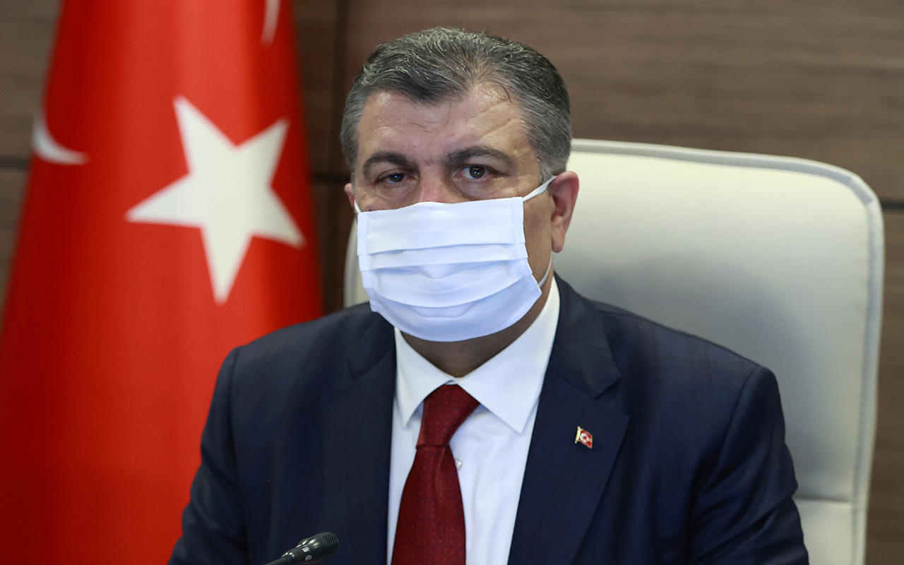 Sağlık Bakanı Fahrettin Koca'dan son dakika açıklamalar! Adana'da yüzde 66 azalma oldu