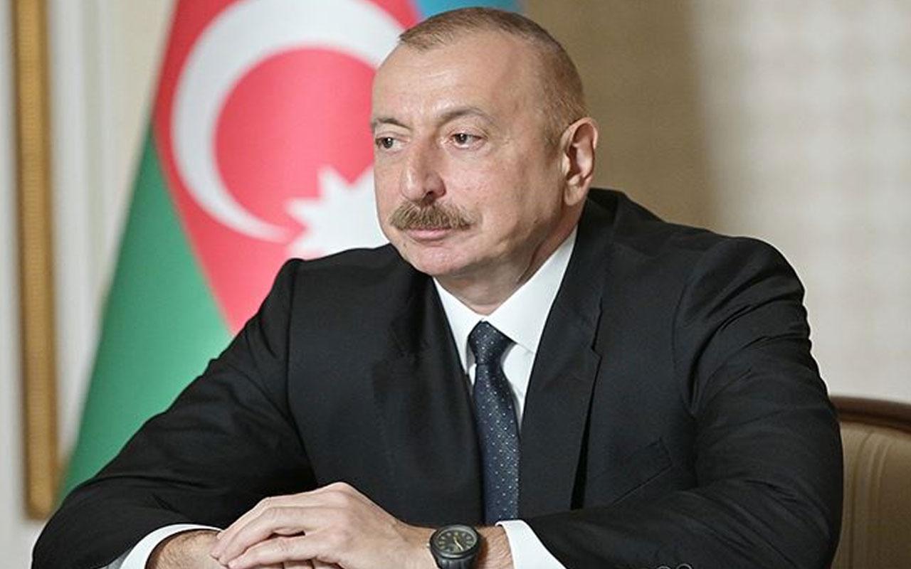 Azerbaycan Cumhurbaşkanı Aliyev: Şehitlerimizin kanı yerde kalmayacak