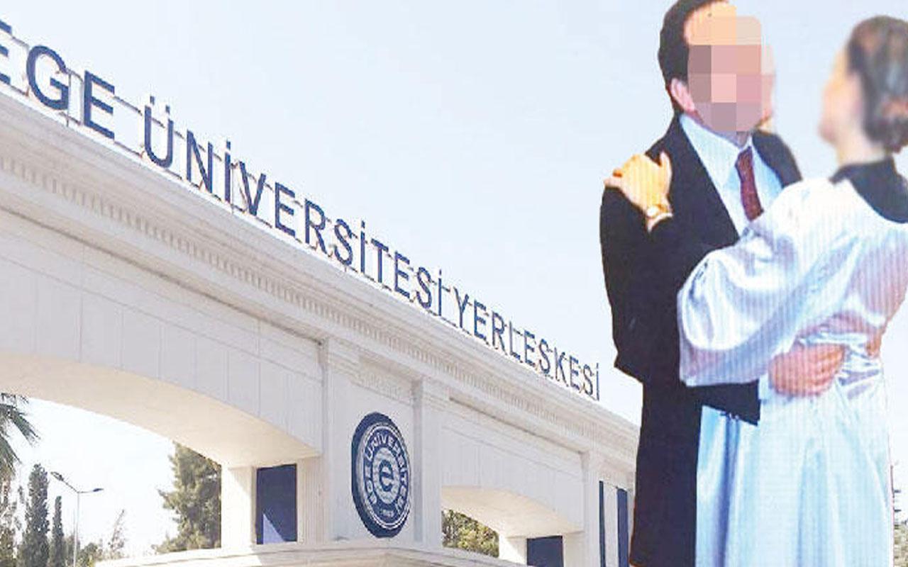 Tanık öğrenciler doğruladı! Ege Üniversitesi'nde profesöre taciz suçlaması