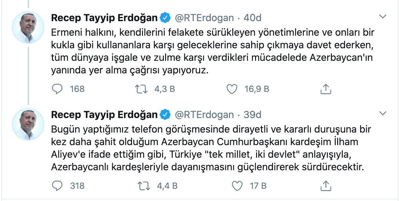 """Ermenistan sivillere saldırdı! Türkiye Azerbaycan'a """"sonuna kadar yanınızdayız"""" mesajı verdi"""
