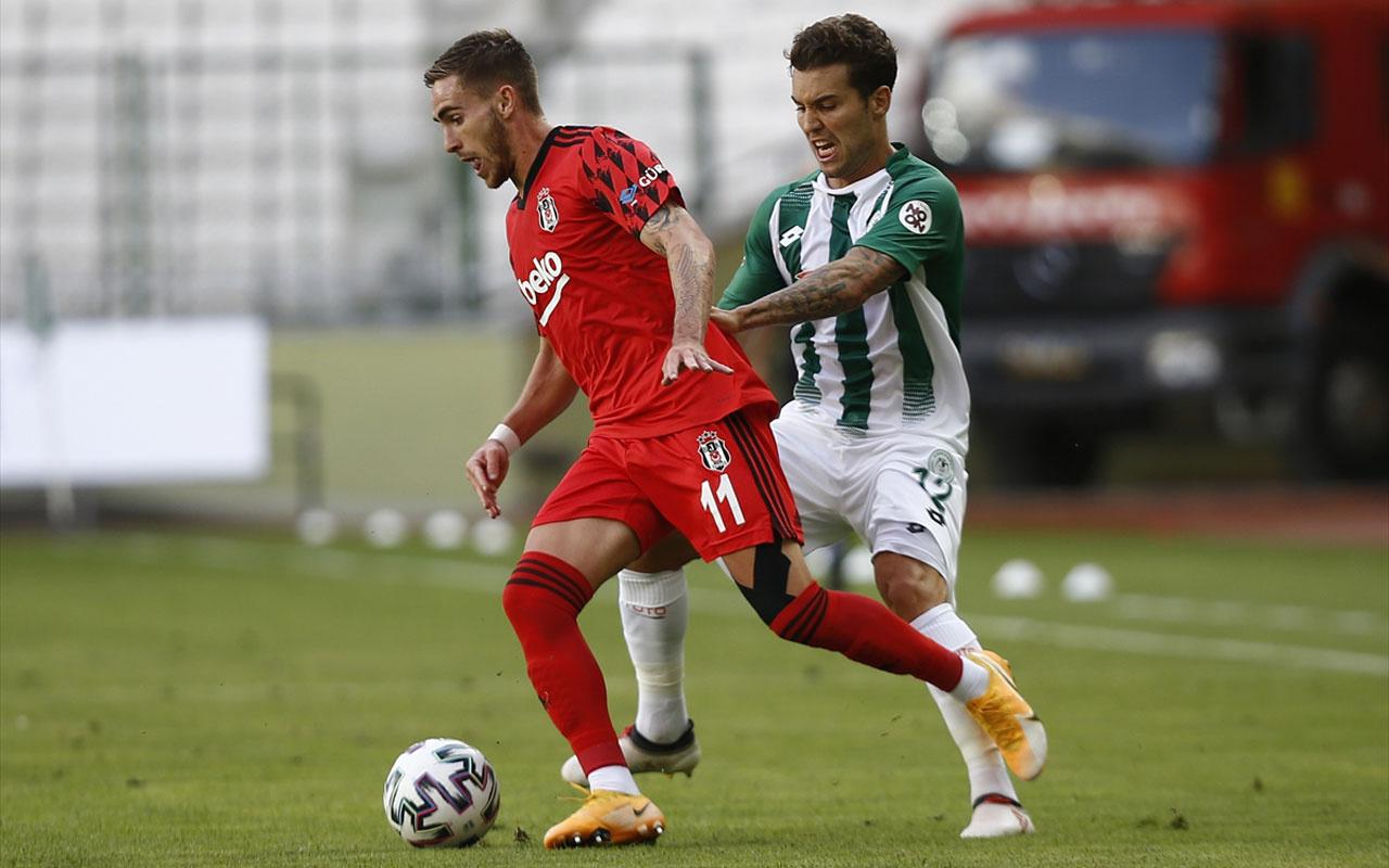 Konyaspor: 4 - Beşiktaş: 1 (Maç sonucu)