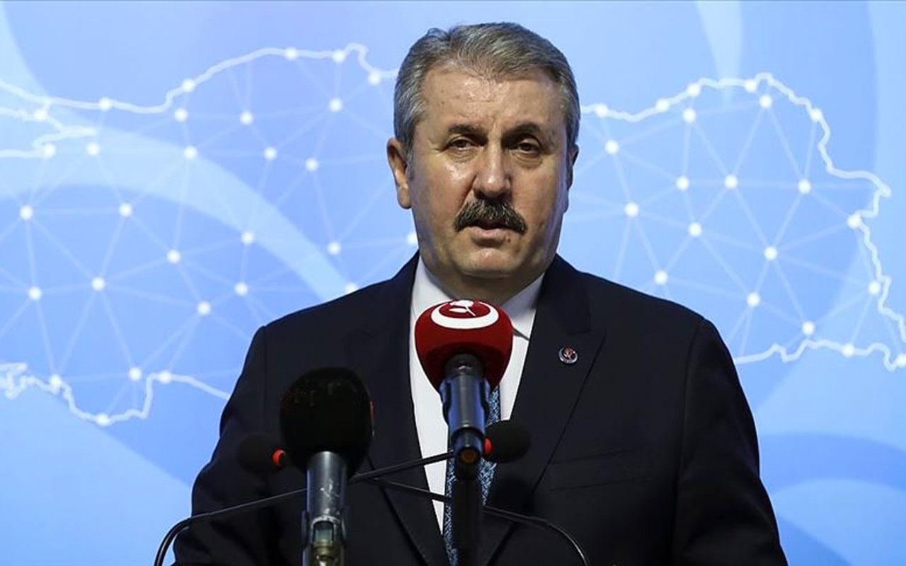 BBP Genel Başkanı Mustafa Destici'den Azerbaycan için tezkere çağrısı