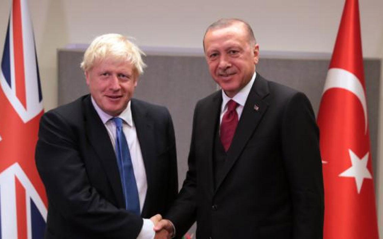 Başkan Erdoğan ve Johnson telefonla görüştü!