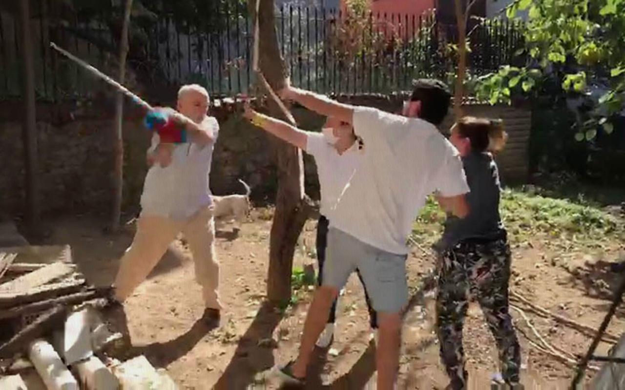 İstanbul Beykoz'da komşular arasında kavga