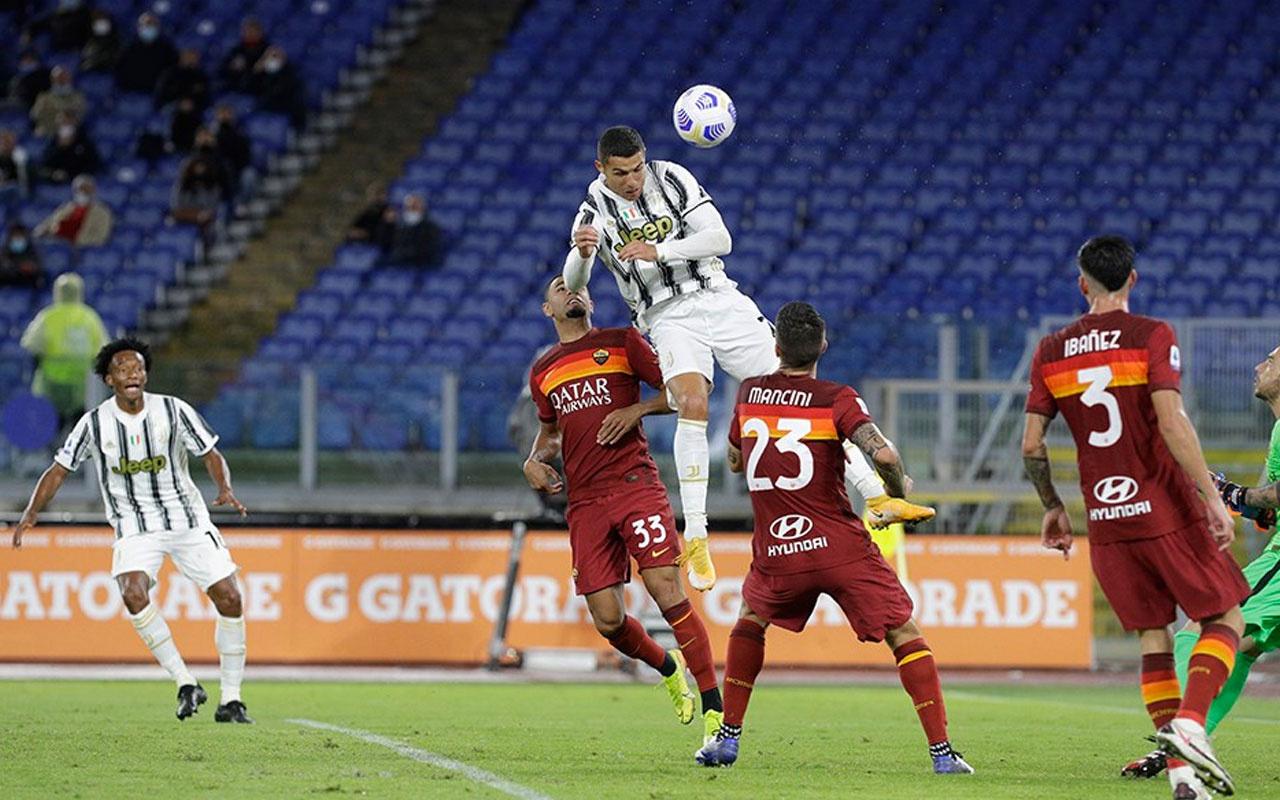 Roma kaçtı Ronaldo kovaladı