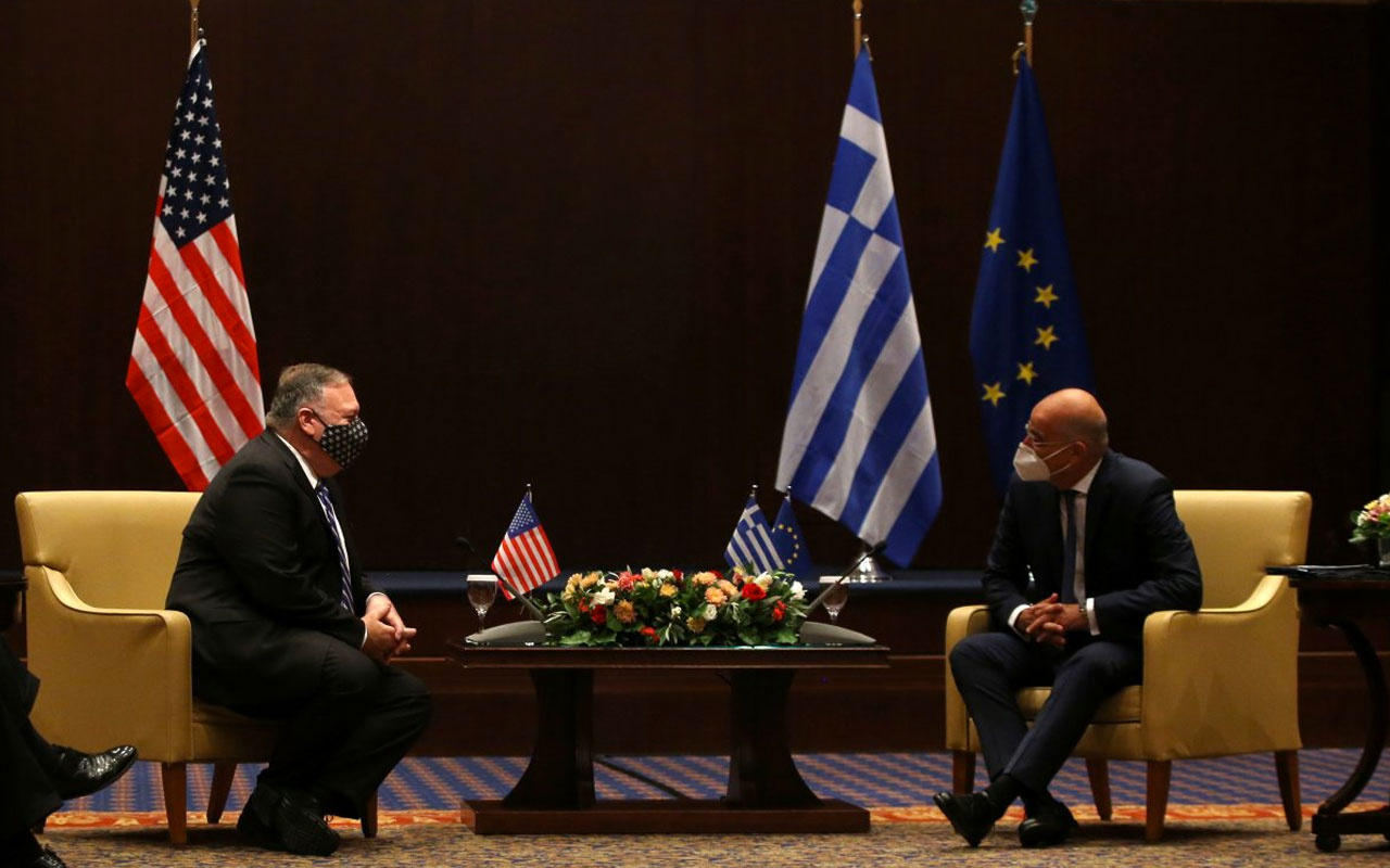 ABD Dışişleri Bakanı Mike Pompeo, Yunan mevkidaşı Nikos Dendias ile görüştü