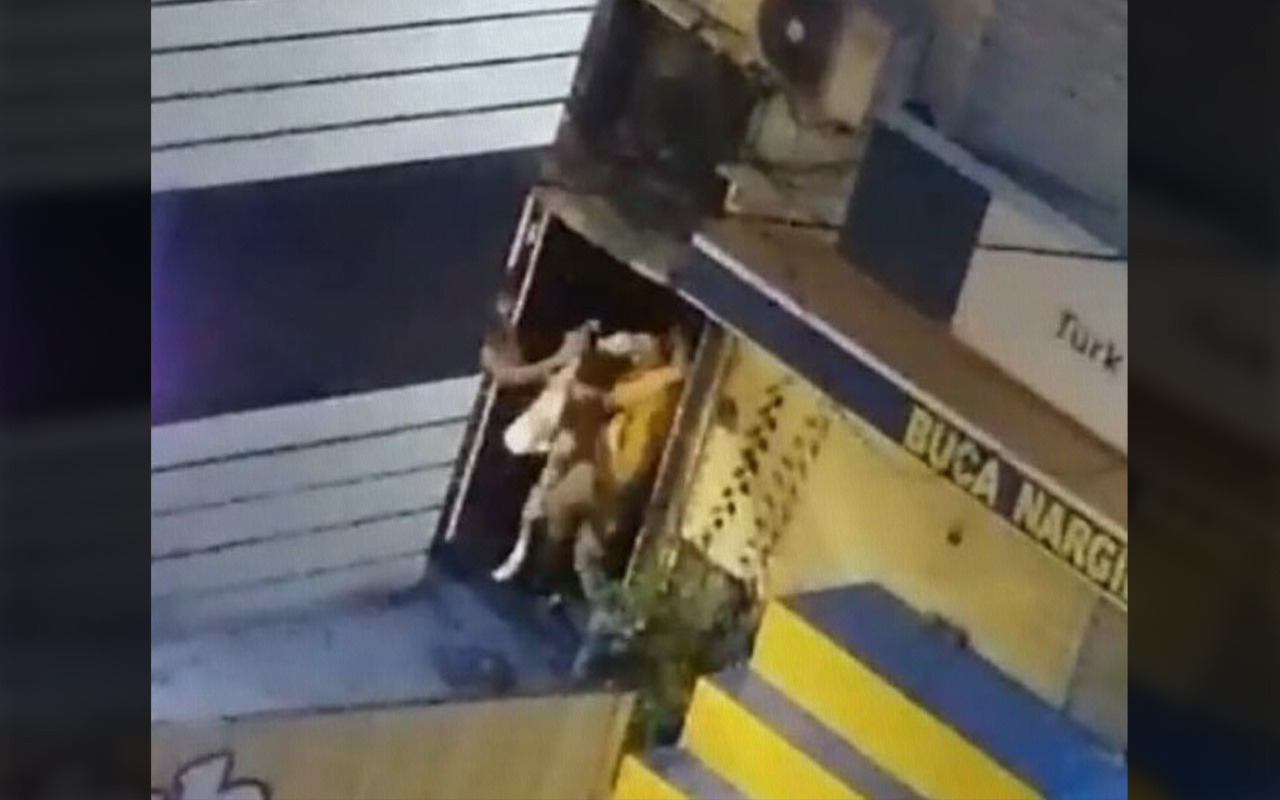 İzmir Buca'da tekme tokat dövülen kadın şikayetçi olmadı