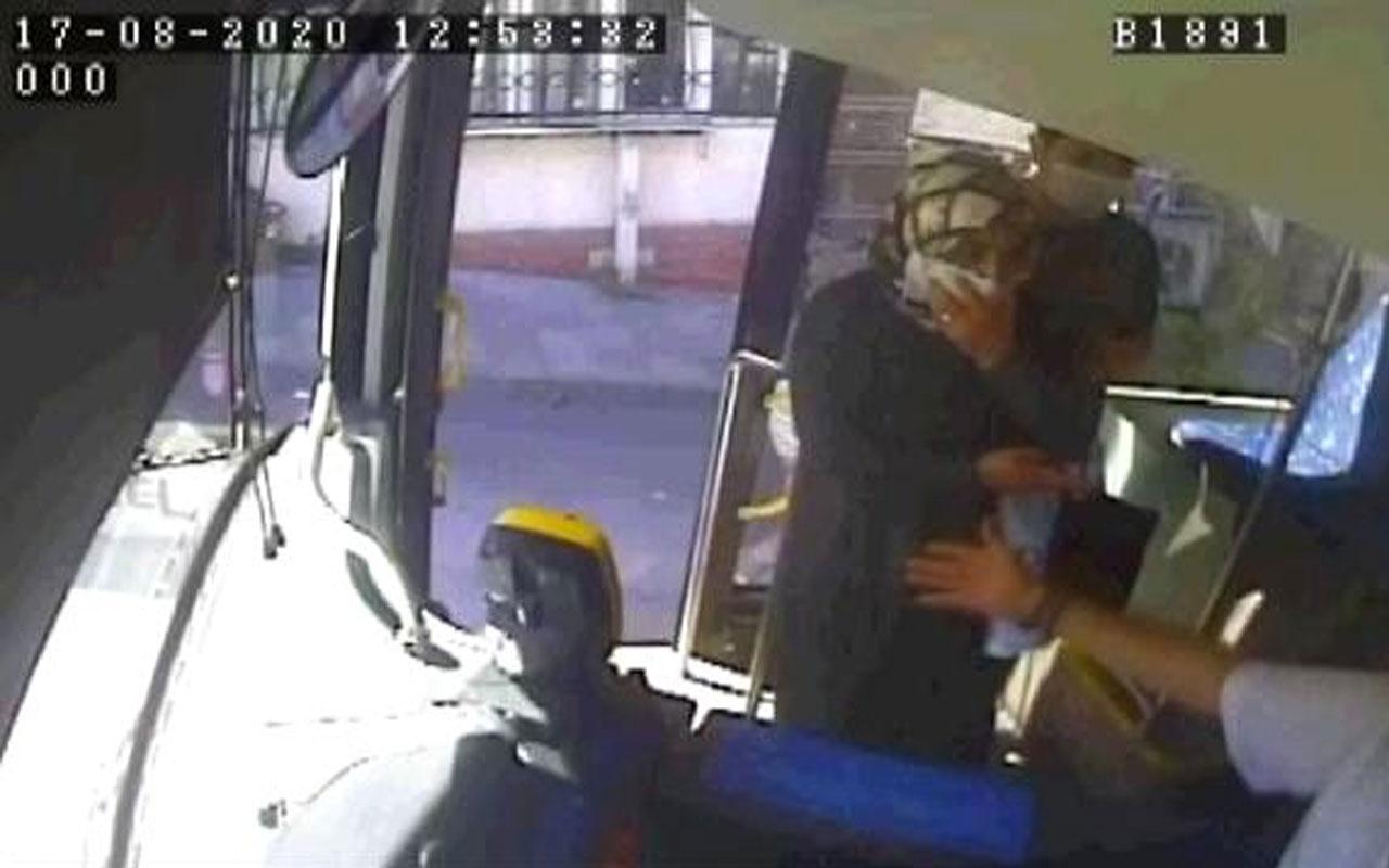 İstanbul'da yaşandı! Peçeteyi maske yapmak istedi, otobüs şoförü kabul etmedi