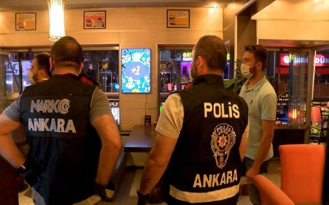 Yüzlerce polis katıldı! Ankara'da eğlence mekanlarına korona denetimi