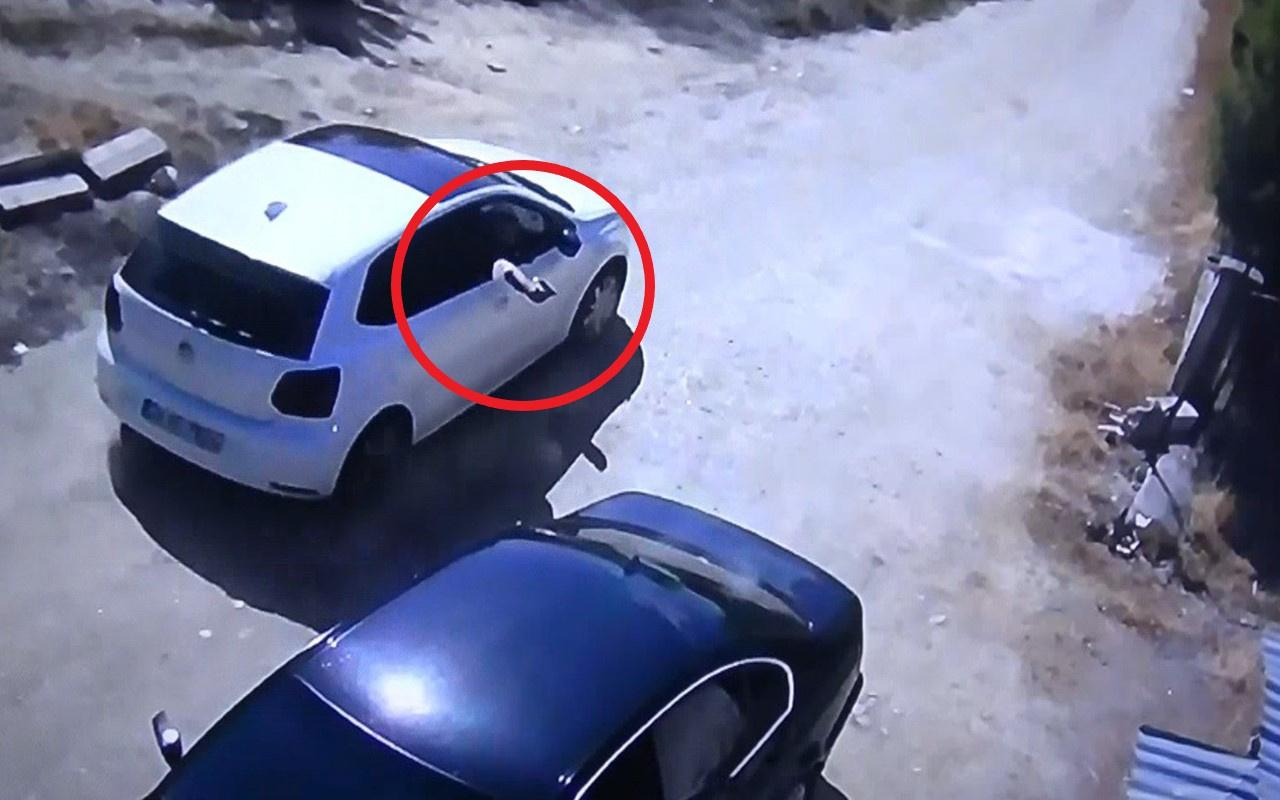 Bilecik'teki kanlı pusunun güvenlik kamerası görüntüleri dehşete düşürdü