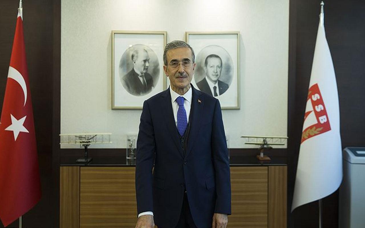 Savunma Sanayi Başkanı İsmail Demir: Atmaca füzesinin testleri başarılı geçti