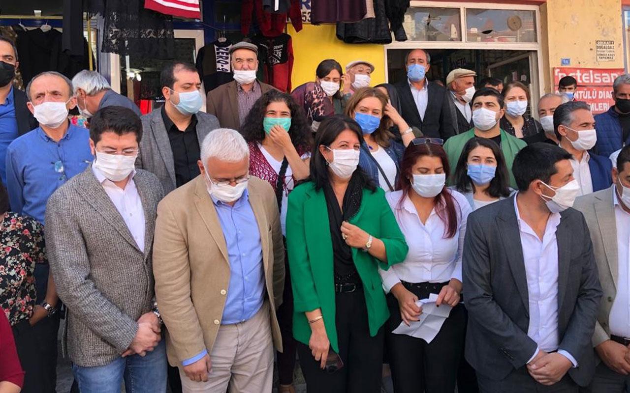 HDP'li vekillerden polise hakaret: Terbiyesiz bana sicili söyle
