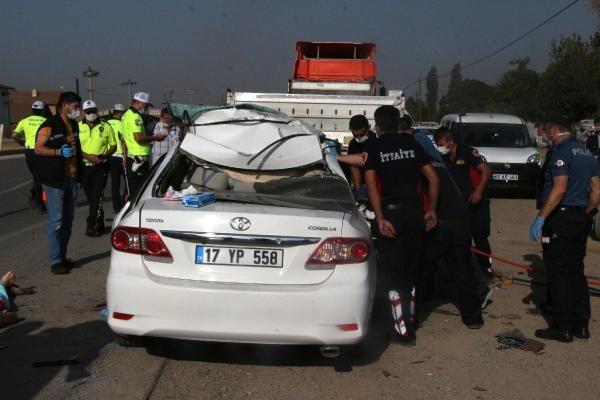 Tokat'ta feci kaza! Otomobil park halindeki tıra çarptı: 2 ölü, 2 yaralı