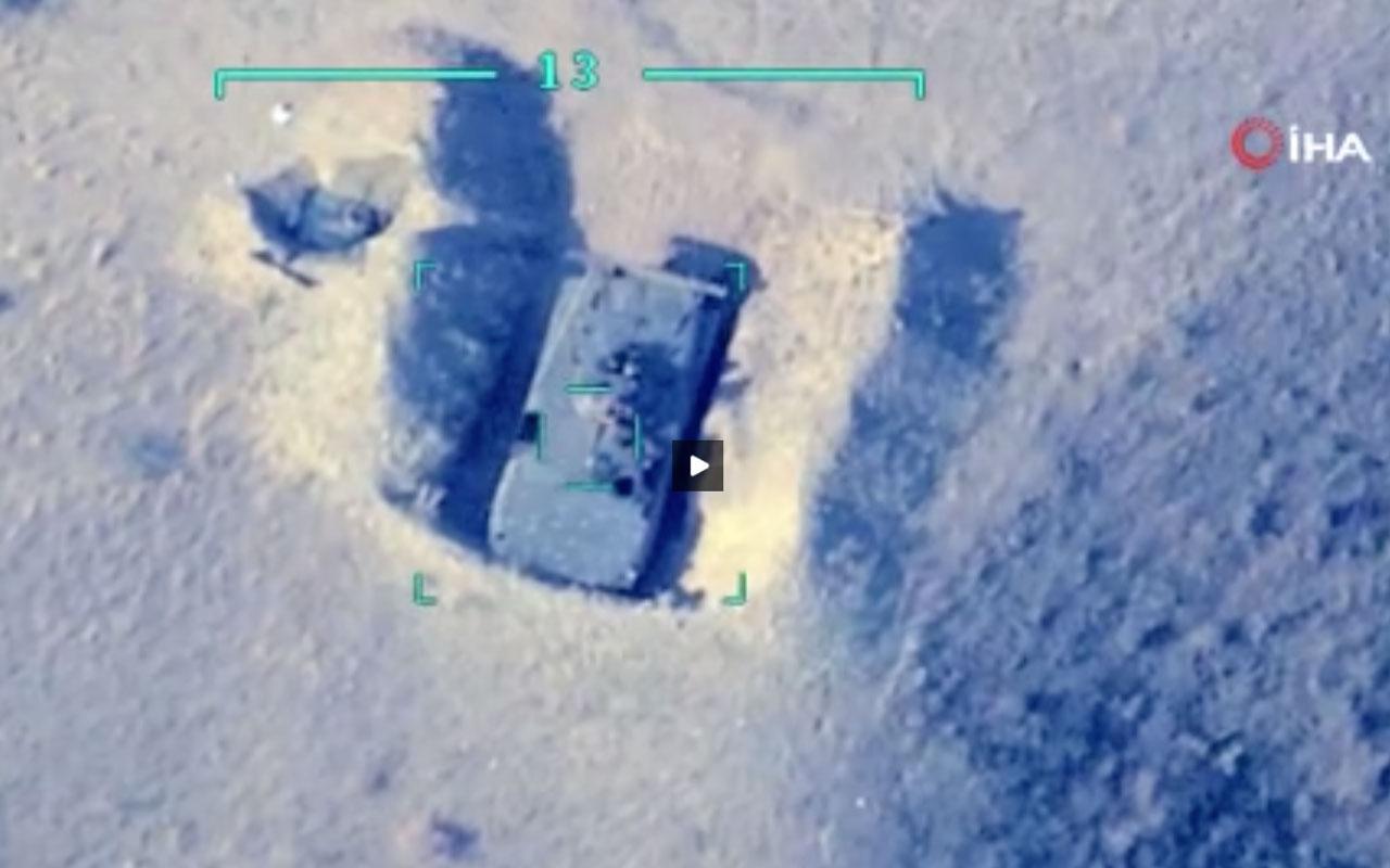 Azerbaycan - Ermenistan askeri teçhizatlarını böyle vurdu