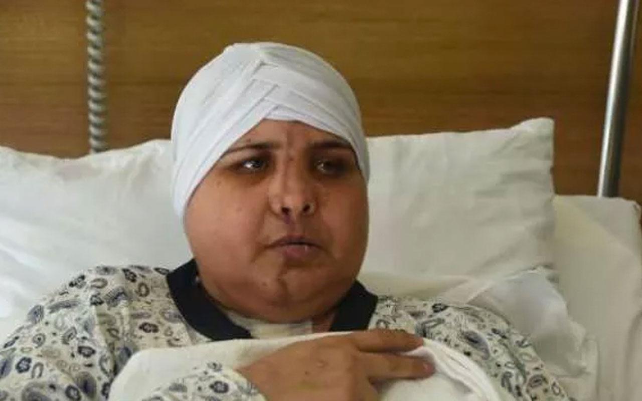 Eskişehir'de inanılmaz olay! Yüzü ikiye ayrılan kadının yüzü ameliyatla birleştirildi