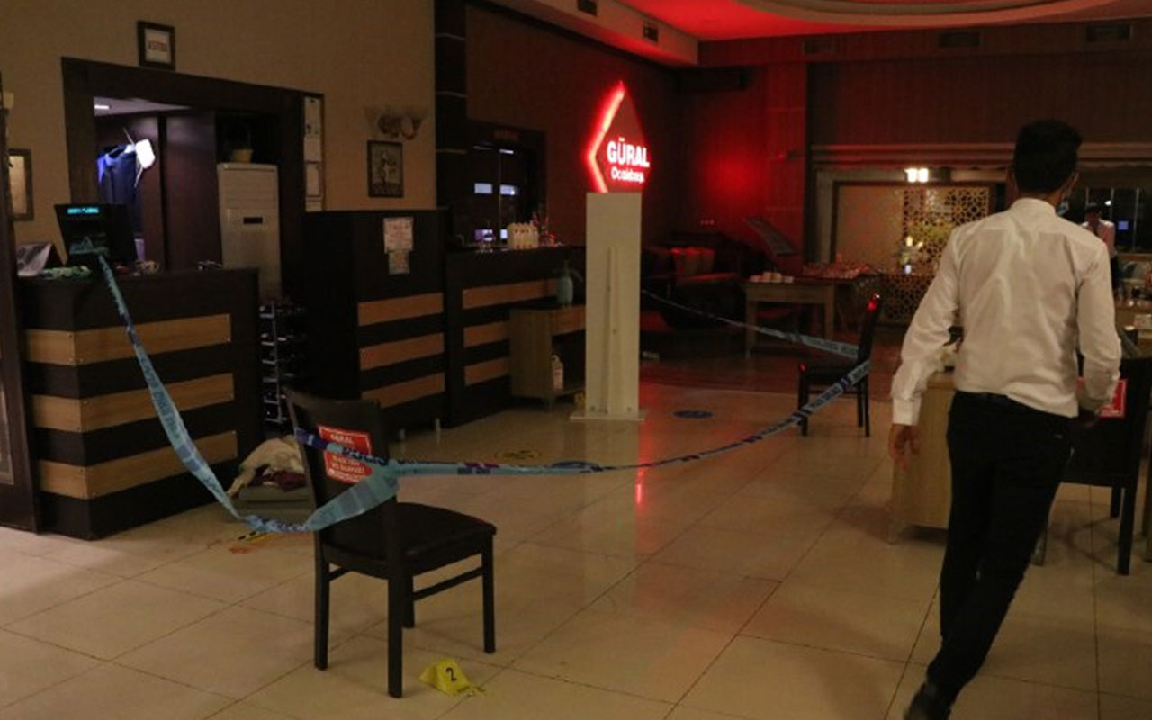 Kütahya'da silahlı saldırı! Restoran sahibi yaralandı